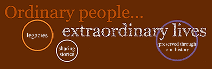 Ordinary people... extraordinary lives